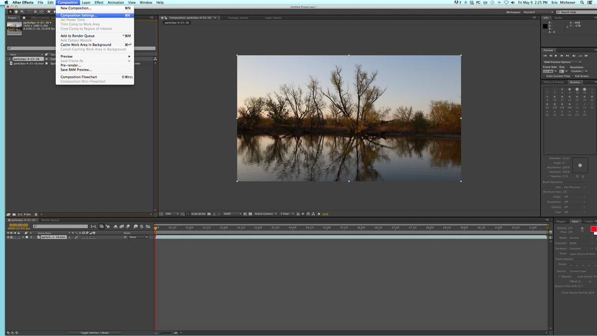 Casting a Water Reflection in After Effects - The Beat: A