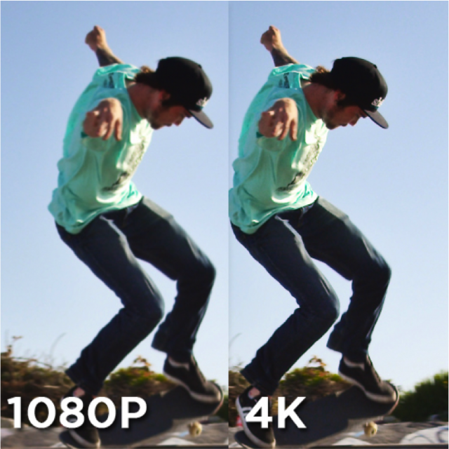 the benefits of using 4K now