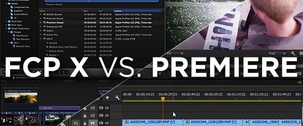FCPX vs Premiere Pro