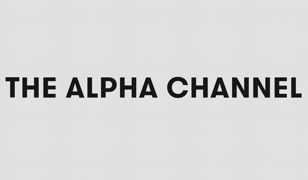 Exporting with Alpha Channels in After Effects