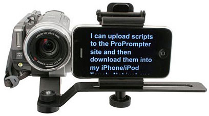 how to build your own teleprompter