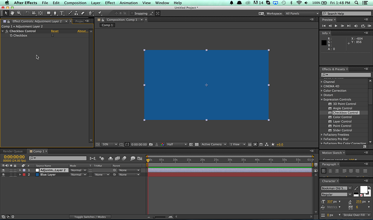 After Effects Quick Tip: Linking Layers to Checkboxes - The