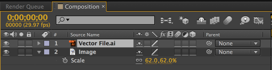 After Effects Quick Tip: Depixelating Vector Files - The