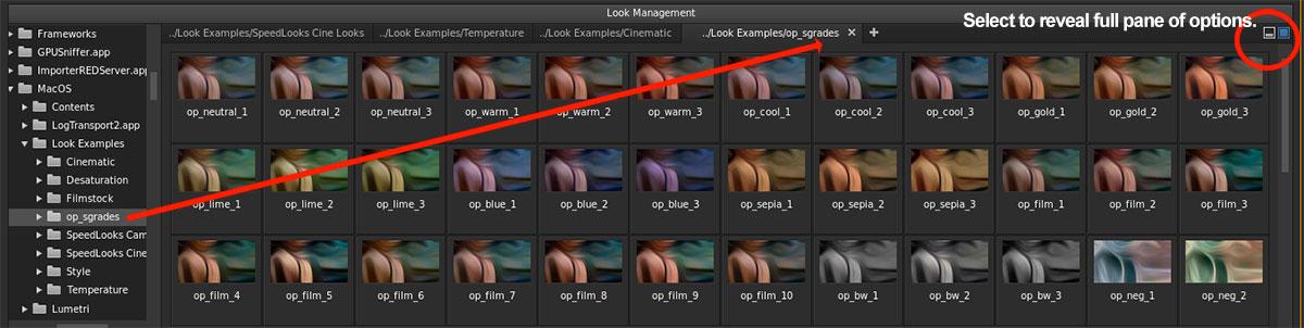Free speedgrade looks presets