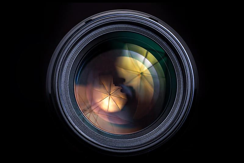 Camera Lens - Shallow Depth of Field