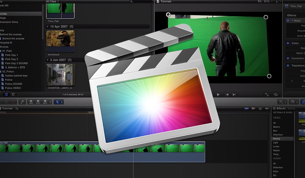 FCPX Video Tutorial: Keying in FCPX