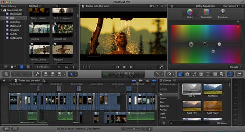 Demo Reel Editing