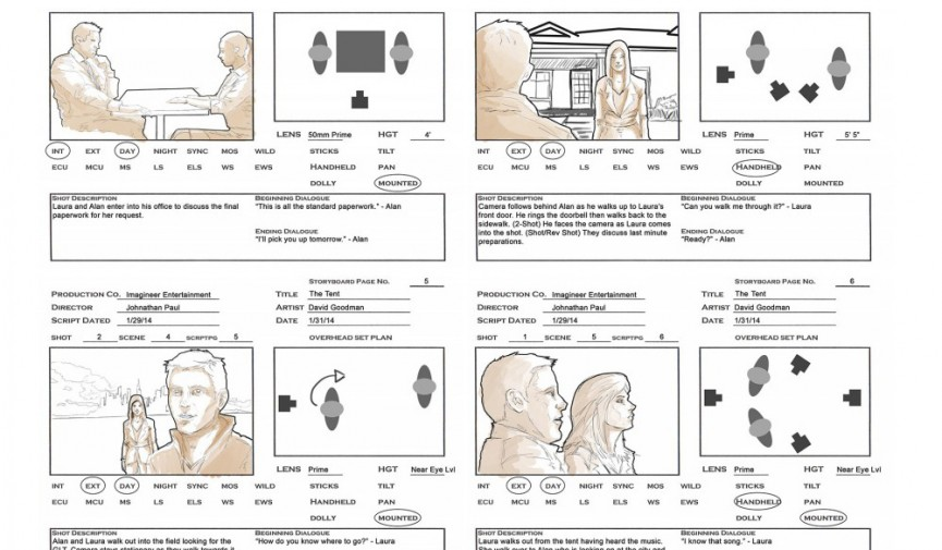 Storyboarding Your Film: Tips For Your Next Project