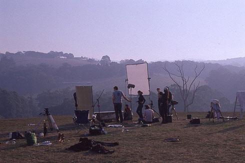 No Permit Film Shoot