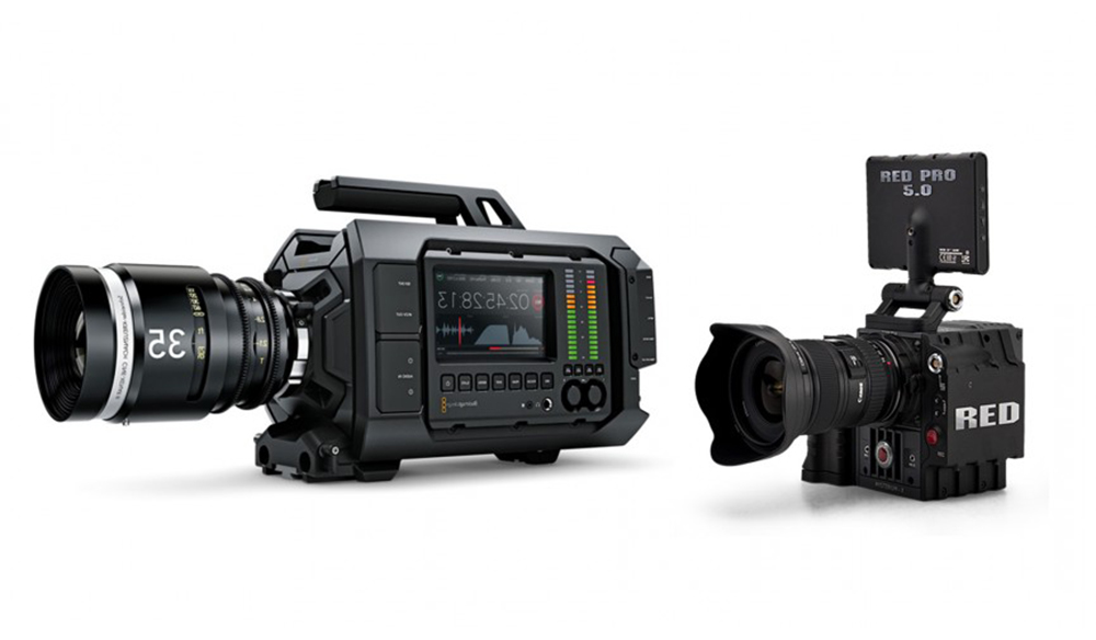 The Blackmagic URSA vs  RED Scarlet