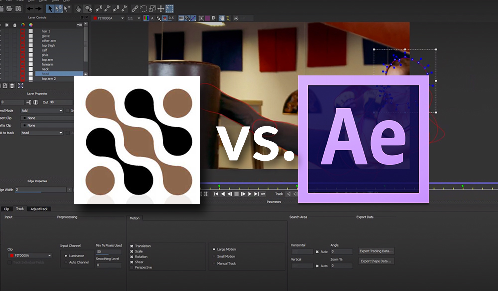 Adobe's Mask Tracker vs Mocha AE CC