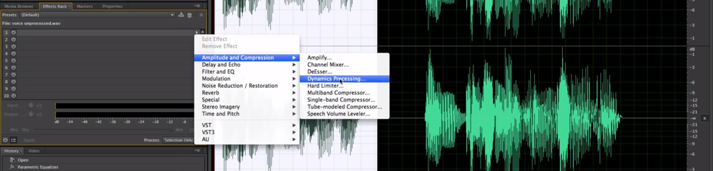 Adobe Audition Audio Editing