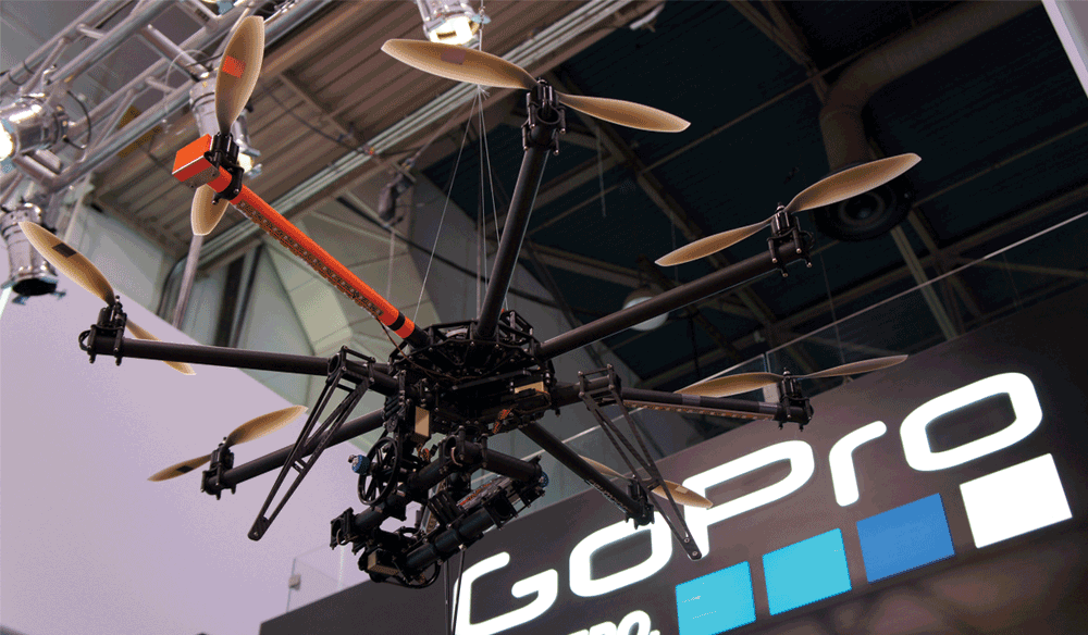 Multi-Rotor GoPro Drone To Be Unveiled at CES 2015