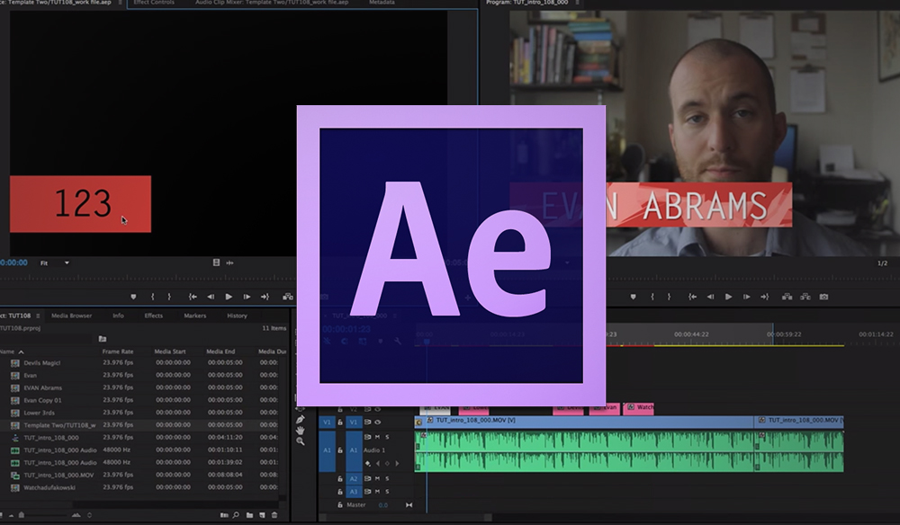 After Effects Text Templates