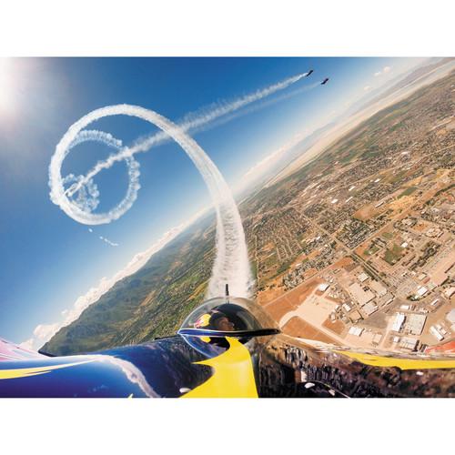 GoPro on Plane