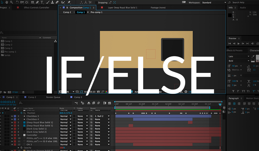 If Else in After Effects Cover Image