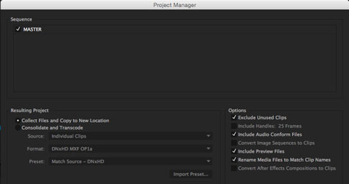 Organizing Premiere Project