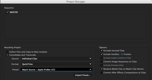 Proxy File Generating