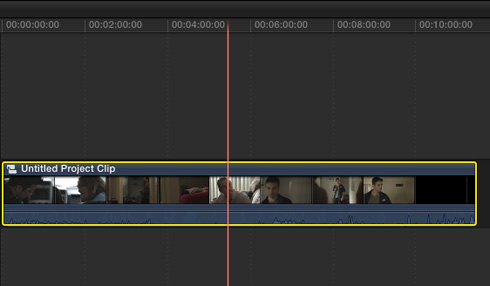 Using Compound Clips in FCP X