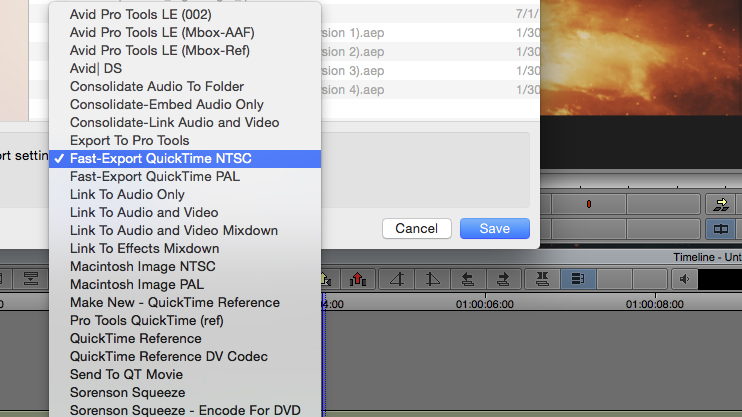 Avid Media Composer Facebook Export: 2