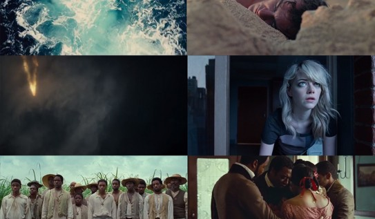 Comparing the First and Last Frames of Hollywood Films