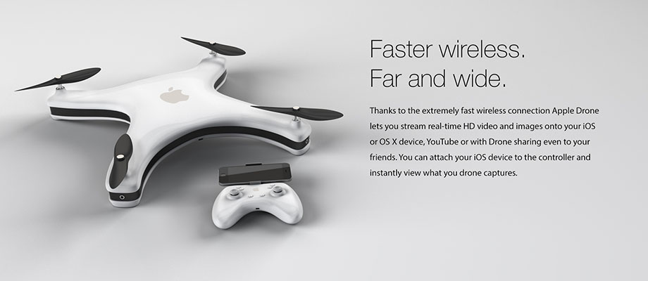 apple drone share