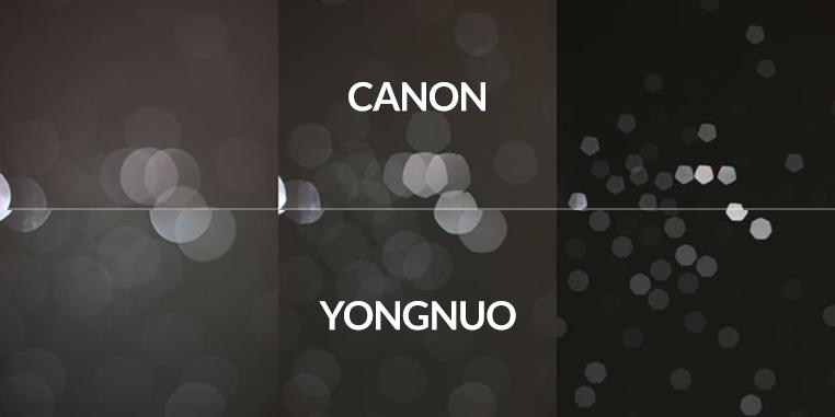 Canon vs Yonguno Comparison