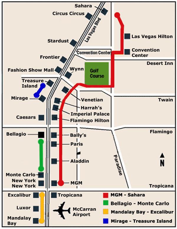 Monorail In Las Vegas Map.Las Vegas Monorail Map The Beat A Blog By Premiumbeat