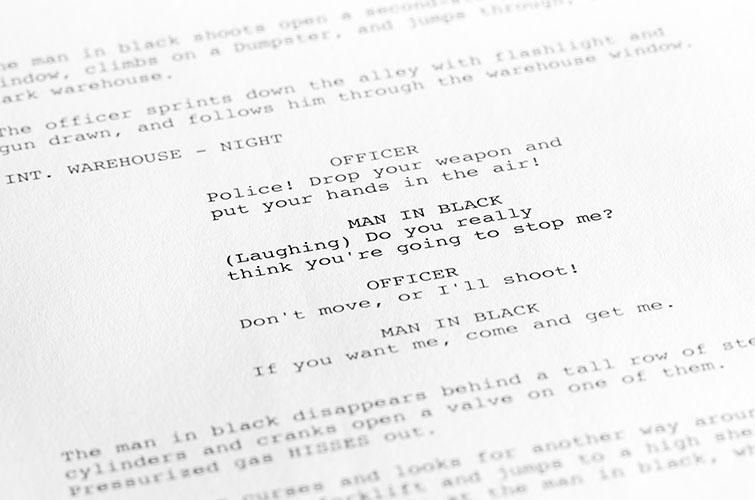 feature film script