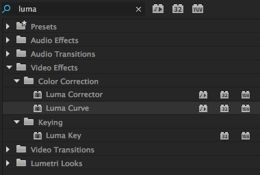 The Luma Curve Effect