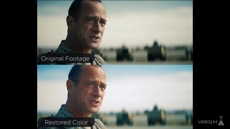 man of steel in color