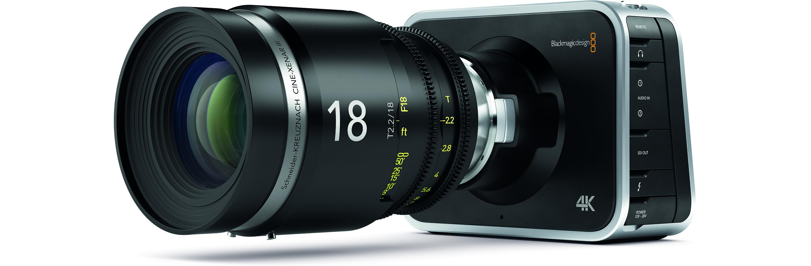 Blackmagic Production Camera 4D 2
