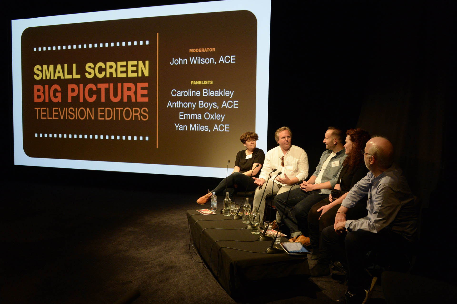 Edit Fest London - how to get a job as an editor