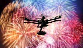 Can You Legally Fly A Drone Through A Fireworks Show?