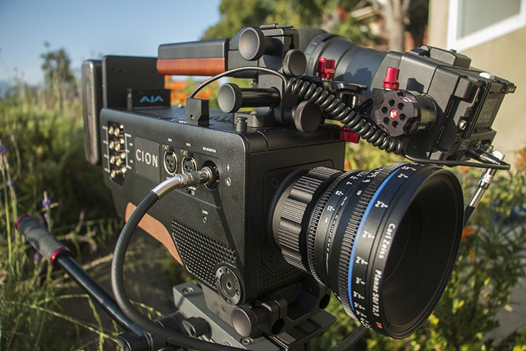 "The AJA CION is a production camera that can capture ""ready-to-edit"" 12-bit ProRes files internally."