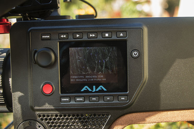 To develop a look within the camera's menu, there are six menu buttons that give you access to a variety of camera settings