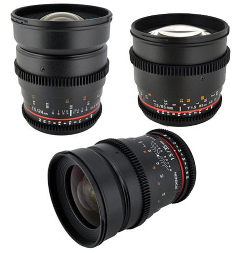 Starter lenses DSLR