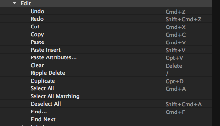 custom keyboard shortcuts