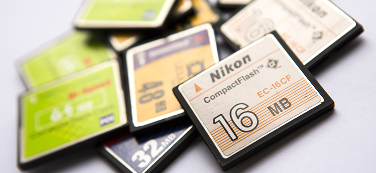 Video Gear for Traveling Road Warriors and Frequent Flyers: CF cards