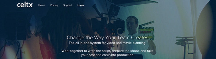 Affordable Filmmaking Software: Celtx Script Writing