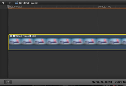 Image Sequence In Final Cut