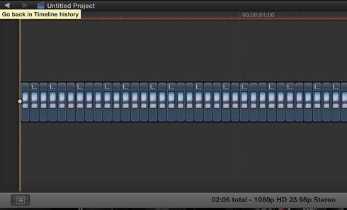 Final Cut Pro X Timelapse