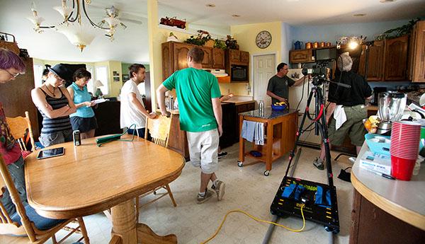 Guerrilla-Track-on-kitchen-set-Love-Robots
