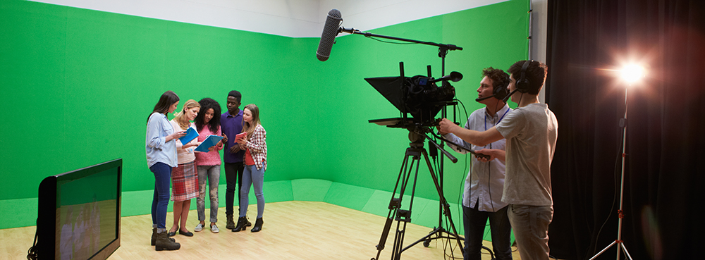 Students in a Small Studio