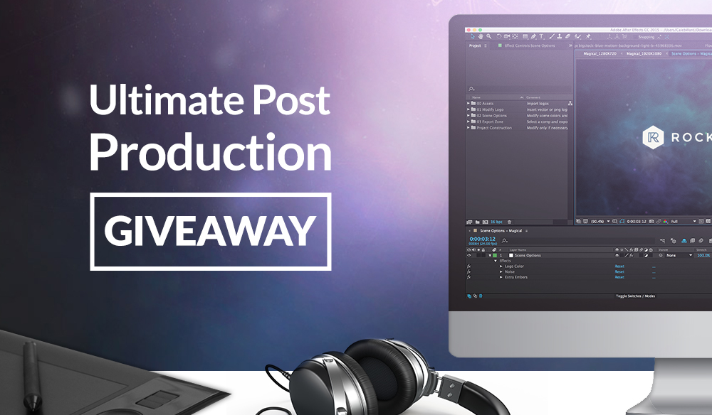 Post Production Giveaway