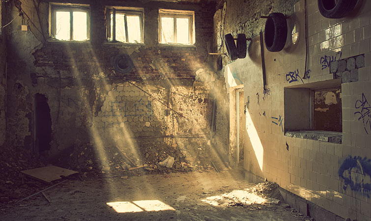 abandoned location