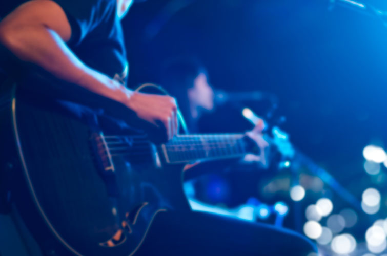 guitar music video