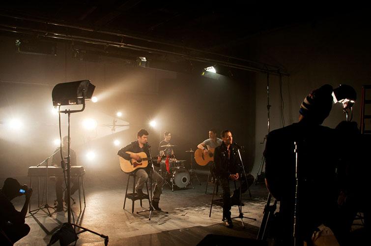 music vid shoot
