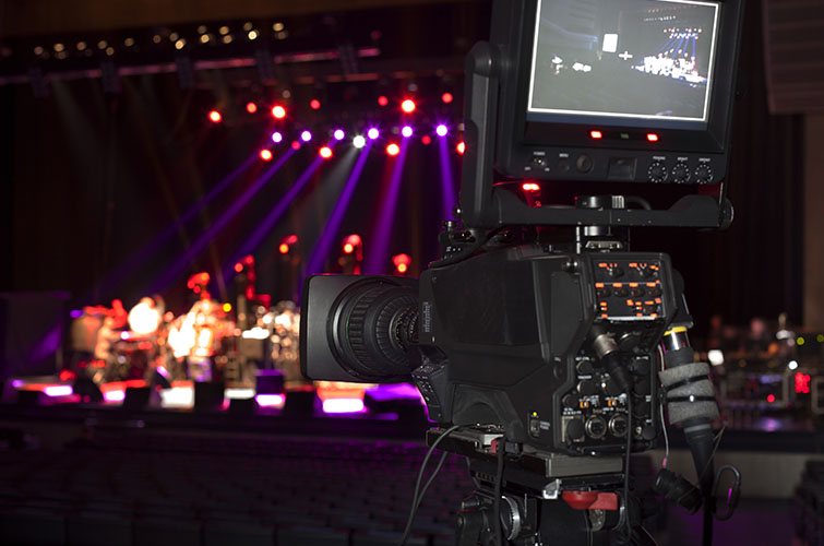 music video live