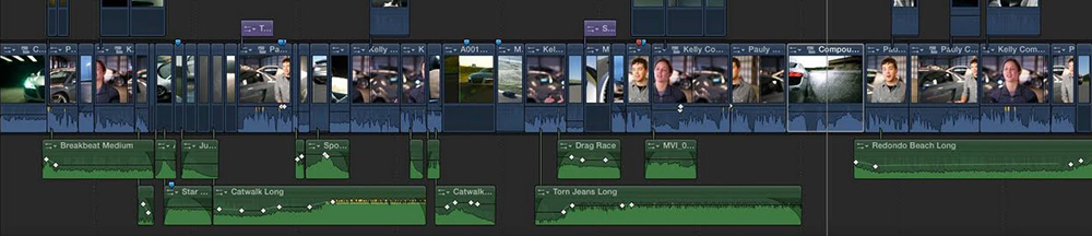 Final Cut Pro Timeline